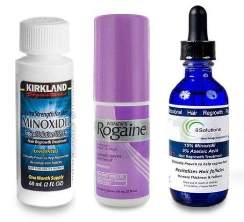Средства с миноксидилом