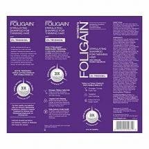 Шампунь для роста волос Foligain 2% Trioxidil женский вид сзади