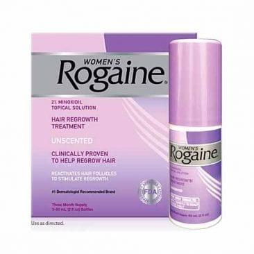 Лосьон для роста волос женщин Minoxidil Rogaine 2% 3 месяца