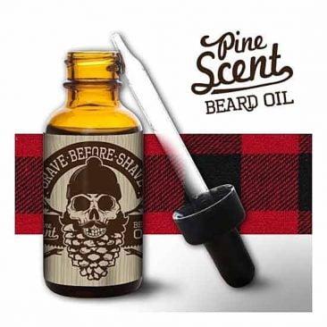 Бальзам для роста бороды GRAVE BEFORE SHAVE Pine Scent