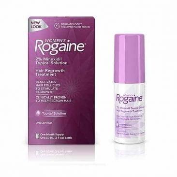 Лосьон для роста волос женщин Minoxidil Rogaine 1% 3 месяца