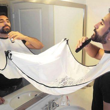 Фартук для бритья бороды