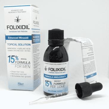 Folixidil 15% с коробкой, пипетка, инструкция