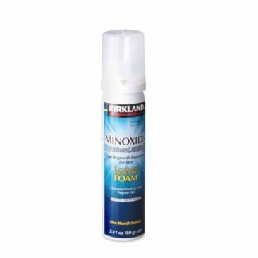 Пена для роста бороды Minoxidil Kirkland Foam 5% на 1 месяц